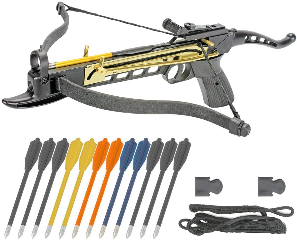 King Archery Crossbow Pistol Self Cocking