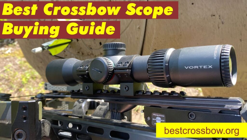 best crossbow scope 2021 buying guide